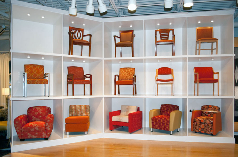 Showroom In High Point North Ina, High Point Furniture Industries