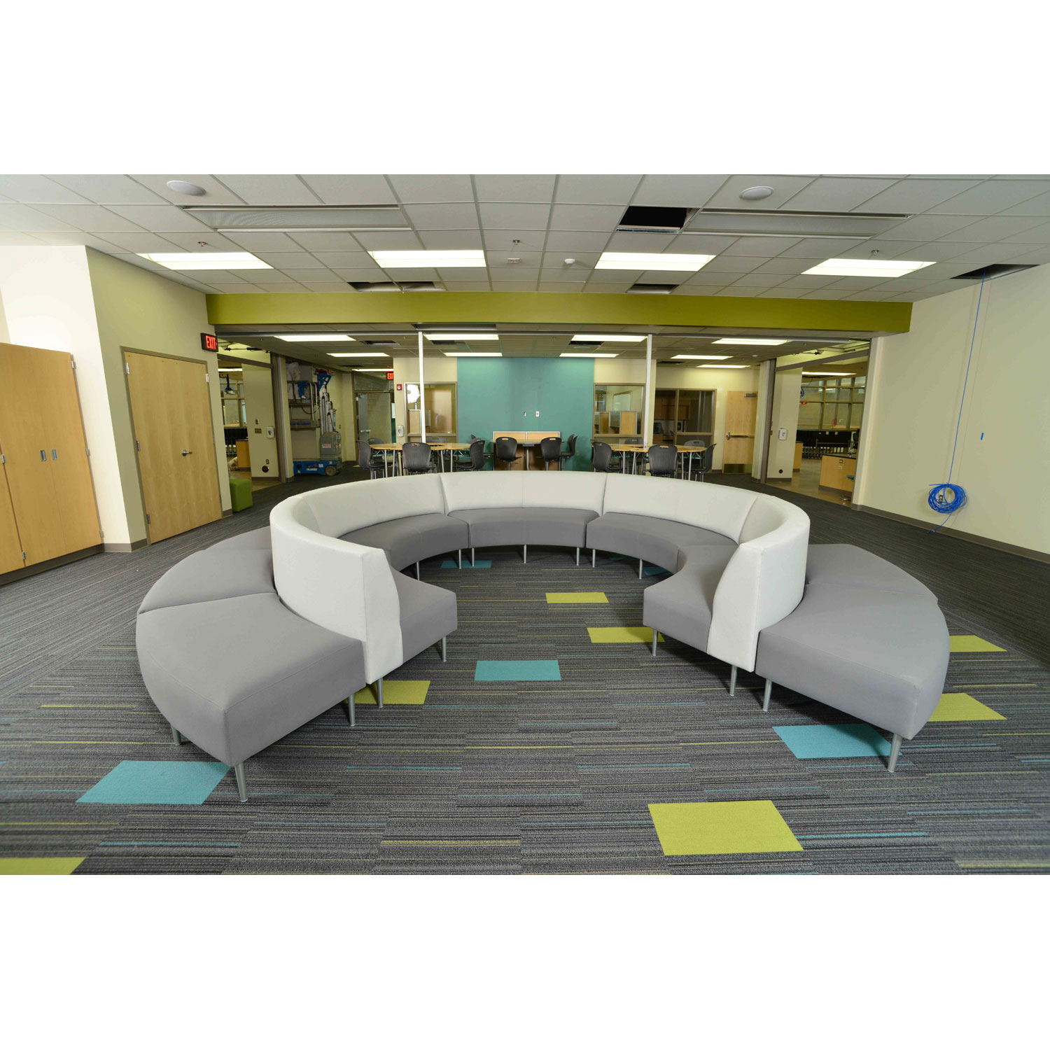 Installation of HPFi education products at Holton