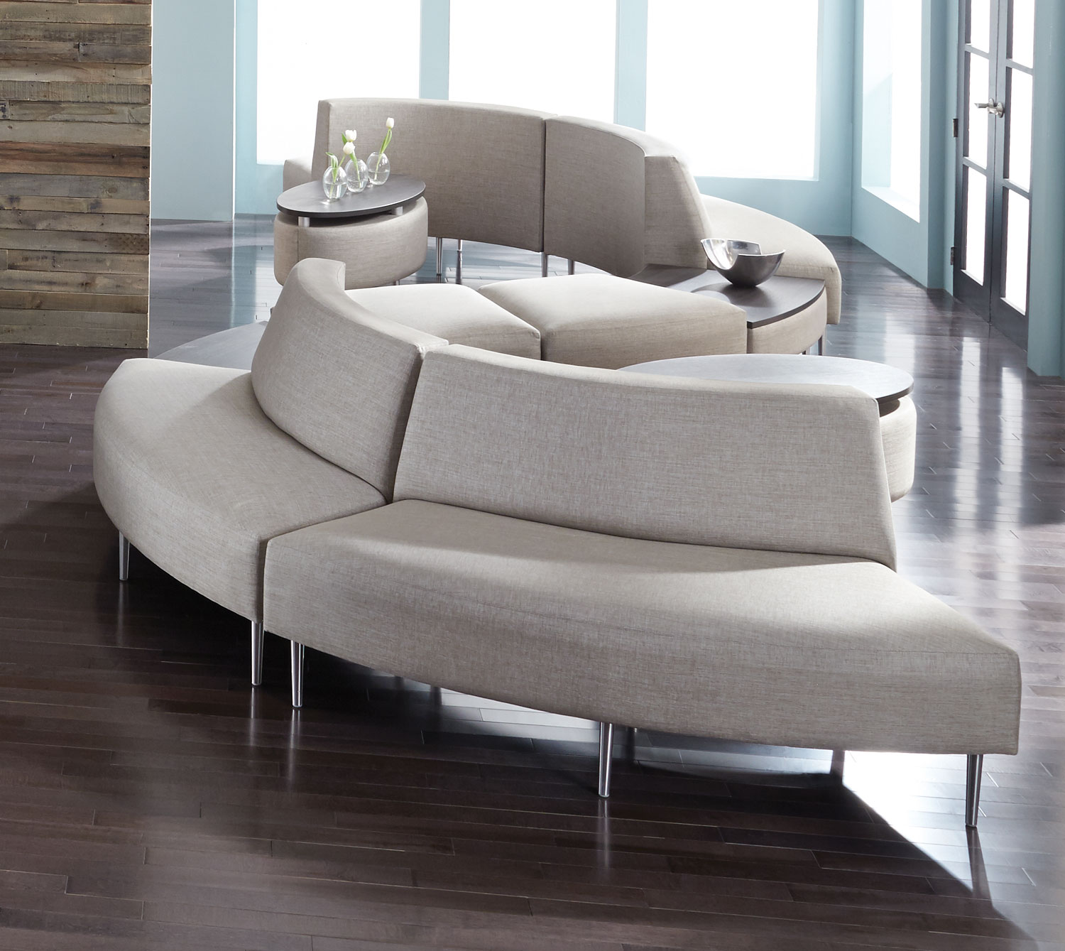 Eve Lounge And Reception Seating From HPFi   High Point Furniture Industries