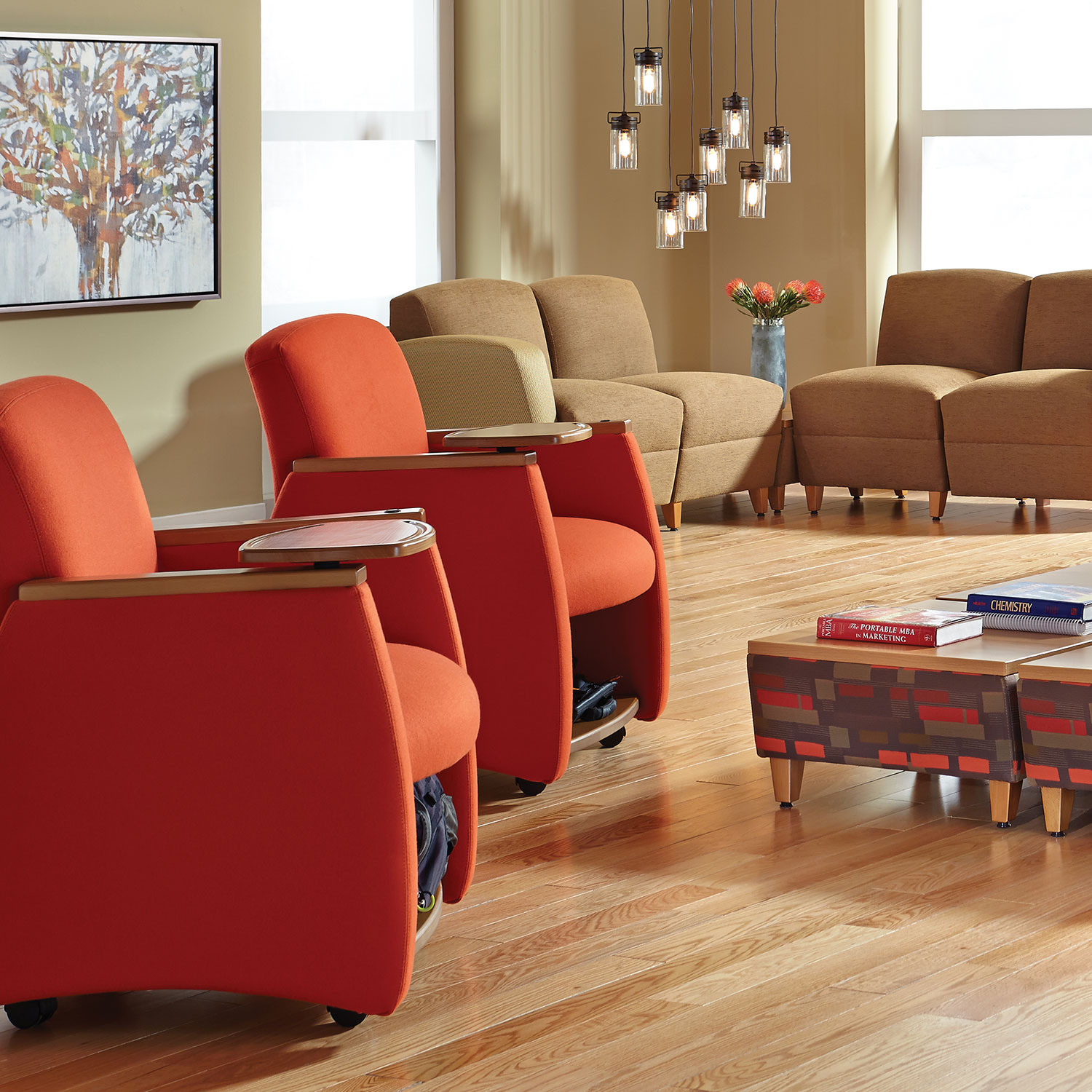 genesis lounge and reception seating from hpfi high point furniture industries