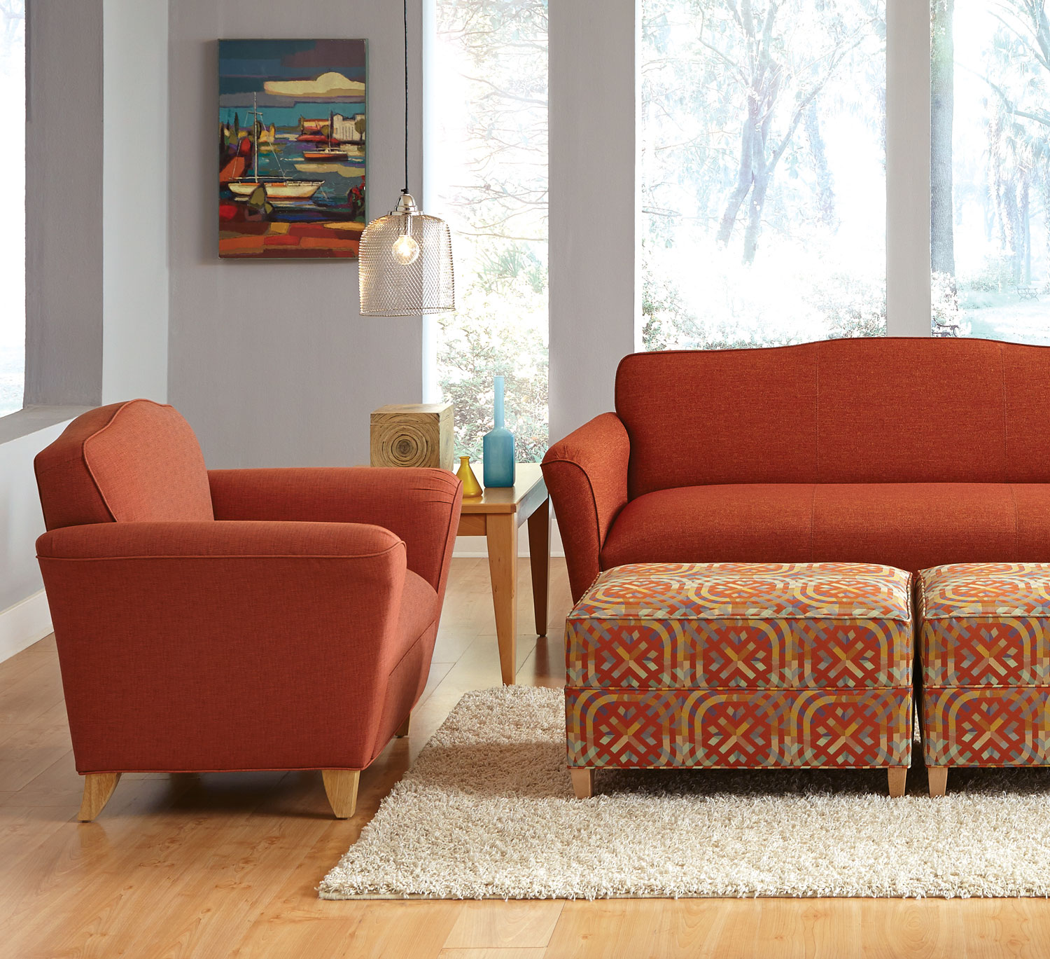 Kimberly Lounge And Reception Seating From HPFi   High Point Furniture  Industries